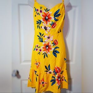Yellow Floral *Old Navy* XXL Dress